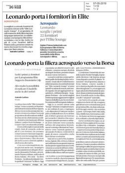 Leonardo + Il Sole 24Ore