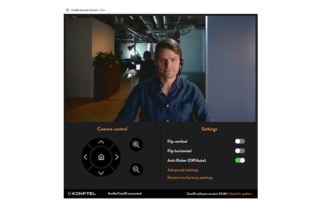 Software Konftel Cam10